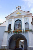 Gate of dawn, Vilnius, Lithuania — Stockfoto