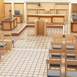 Stock Photo: Courtroom panorama