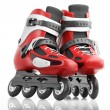 Stock Photo: Roller Skates Red