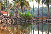 Fishermans village — Stock Photo