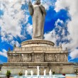 Royalty-Free Stock Photo: Buddha statue on water in Hyderabad
