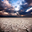 Stock Photo: Drought earth