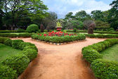 Lalbagh botanical garden in Bangalore — Stock Photo