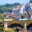 Waterfall Dudhsagar — Stock Photo