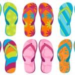 Flip Flops — Stock Vector #6326510