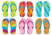 Flip Flops — Stock Vector