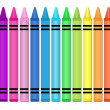 Crayons - Stock Vector