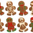 Royalty-Free Stock Vektorfiler: Gingerbread Man