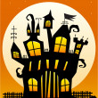 Haunted Castle — Stock Vector #6349829