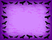 Bat Frame — Vector de stock