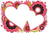 Kalpli çerçeve — Stok Vektör