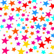 Colourful stars — Stock Photo