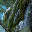 Watelfall in Croatia (Plitvice Lakes) — Stock Photo