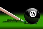 8 Ball Broken 2 — Stock Vector