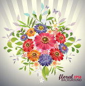Floral Background — Stockvektor