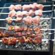 Royalty-Free Stock Photo: Preparation shashlik