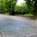 Old pavement street — Stock Photo