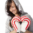Royalty-Free Stock Photo: Love and boxing