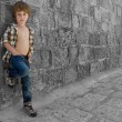 Cute boy — Stockfoto