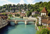 Bern (Unesco Heritage) , the capital of Switzerland. — Stock Photo