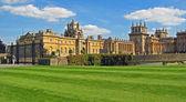 Blenheim Palace - Marlborough Estate, Churchill's birthplace. England. — Stock Photo