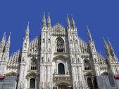 Katedra w mediolanie. — Zdjęcie stockowe