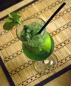 Mojito long drankje. — Stockfoto