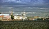 Quay of the Neva river. — Stock Photo