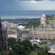 Edinburgh, the capital of Scotland - Stock Photo