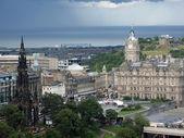 Edinburgh, the capital of Scotland — Stock Photo
