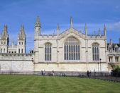 Oxford University. Oxford, England — Stock Photo