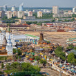 Moscow. Ismailovo. Aerial view of the Kremlin of Ismailovo. — Stock Photo