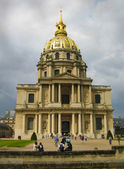 Invalides, the famous cathedral in Paris. — Stock Photo