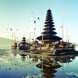 Bali Pura Ulun Danu Bratan - Stock Photo