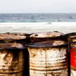 Stock Photo: Waste drums