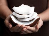 świeży kokos — Zdjęcie stockowe
