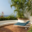 Tropical patio — Foto Stock
