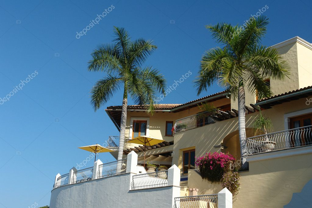 Tropical balconies  — Stock Photo #6489523