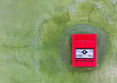 Red Fire alarm — Stock Photo