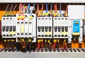 Control panel with circuit-breakers1 — Stock Photo