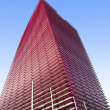 Red skyscraper — Stock Photo