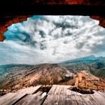 Crimean landscape — Stock Photo