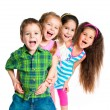 Laughing small kids — Stock Photo #5609339