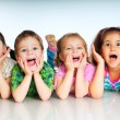 Small Laughing kids — Foto Stock #5650270