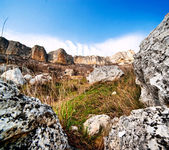 Crimean rocks — Stock Photo