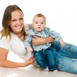 Mother with a baby — Stock Photo #5741441