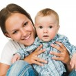 Mother with a baby — Stock Photo #5741462
