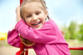 Little girl smiling — Stock Photo