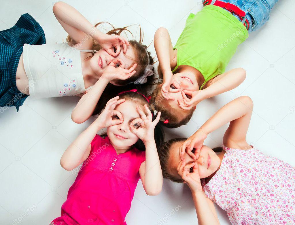 Niños pequeños — Foto de stock © GekaSkr #5799992