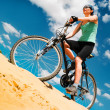 Bikecyclist — Stock Photo
